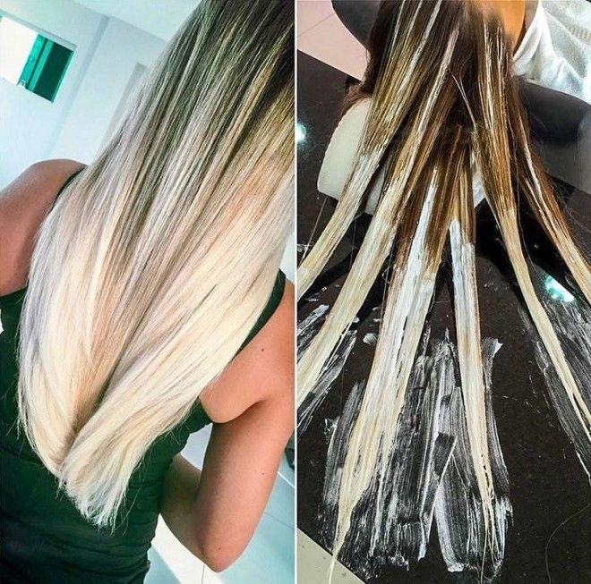 Техника окрашивания волос шатуш в домашних условиях