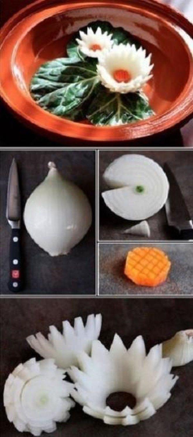 Как сделать украшения для салата своими руками мастер класс