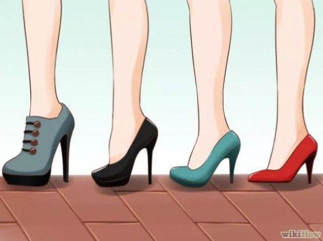 Как научится ходить на каблуках в домашних условиях 543