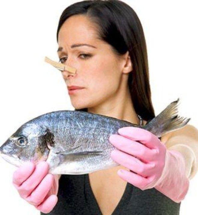Запах рыбы на одежде как его вывести