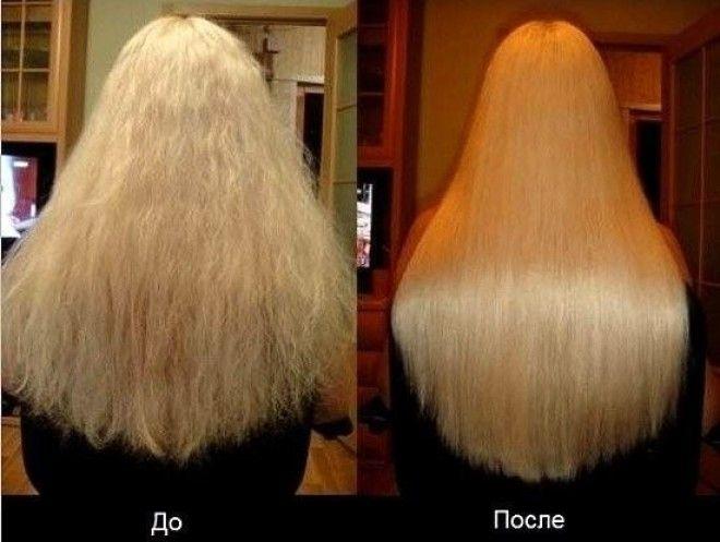 Ополоснуть волосы уксусом как
