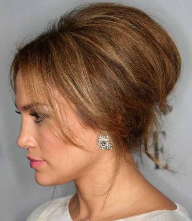 Прическа начес на короткие волосы