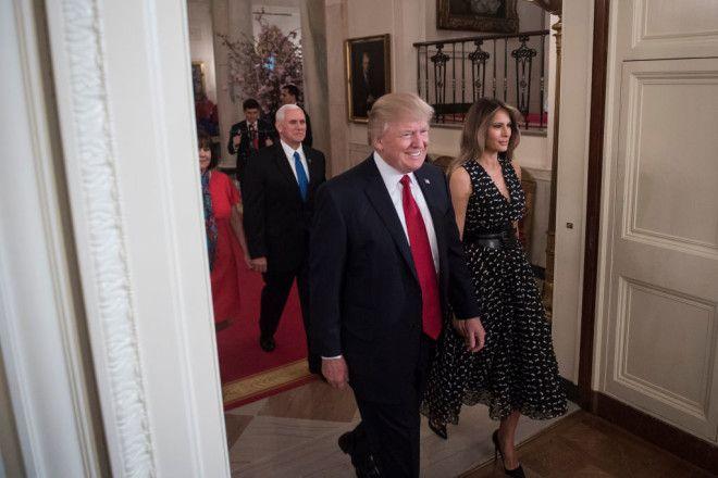 Новый наряд Мелании Трамп произвел фурор в сети