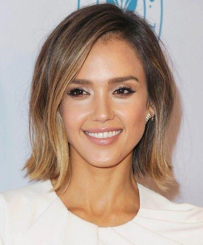 Jessica alba haircut 2014