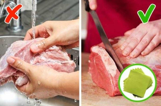 5 продуктов которые нельзя мыть перед приготовлением