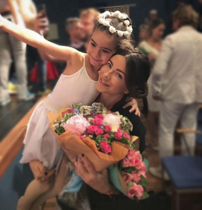 Ани Лорак и ее дочь София