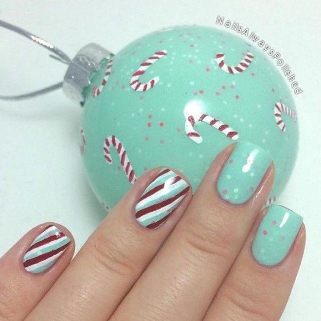 зимний дизайн ногтей 2016 фото