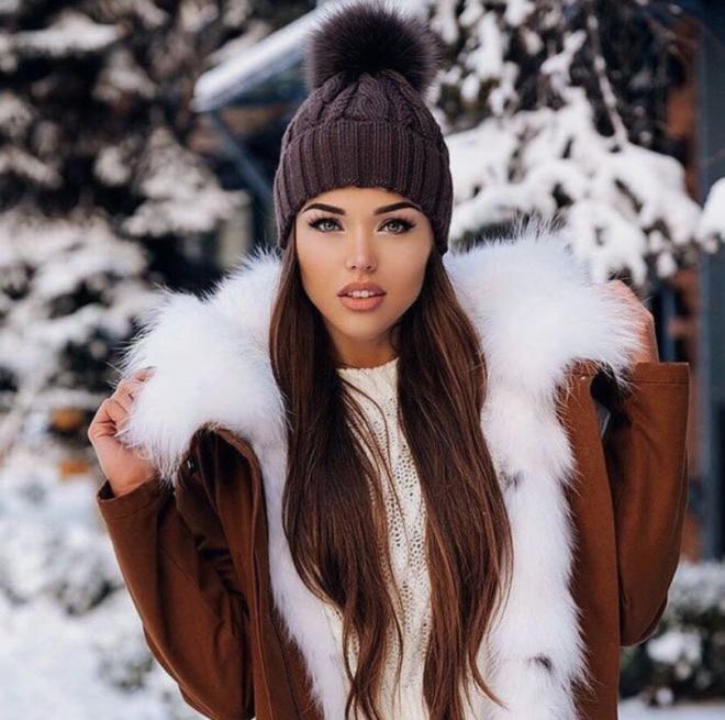 Прямые волосы зимой