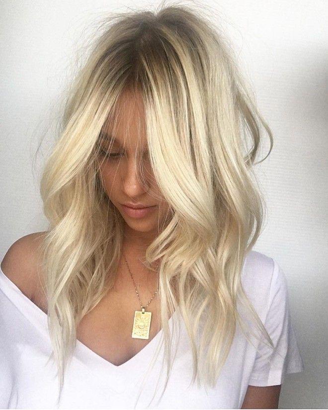 цвет волос 2019 блонд