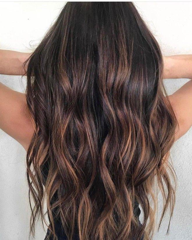 цвет волос 2019 шоколад